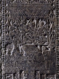 Sogdian Festival of the New Year, Funerary Stone, Pei Northern Ch'i Dynasty, 550-577 AD Photographic Print