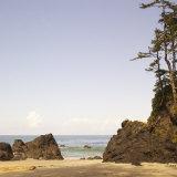 Rocky Beach Scene, Cape Scott, Vancouver, Bc, Canada Photographic Print by Adam Blasberg