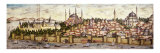 Sarayburnu, Seraglio Point, Hagia Sophia, the Blue Mosque and Topkapi Palace, late 16th century Giclee Print