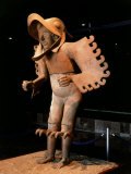 Eagle Man, Terracotta, from Recinto de los Caballeros Aguilas, Mexico Photographic Print