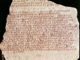 Anti-Christian Petition dated 312 AD from Peoples of Lycia and Pamphylia to the Roman Emperor Photographic Print
