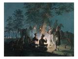 Hussars at Austerlitz, 1805 Giclee Print