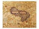 Caspian Sea, 1449 Giclee Print