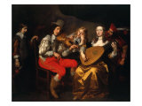 The Concert Giclee Print by Theodore van Thulden