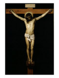 Cristo Crucificado (Christ on the Cross) Giclée-tryk af Diego Velázquez