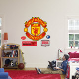 Manchester United Crest Decalque em parede