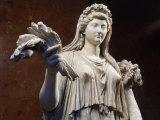 Livia Drusilla, Roman Empress, Marble, c. 20 AD Roman Photographic Print
