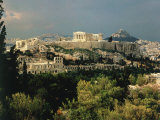 Athens, Greece, Showing the Acropolis Photographic Print