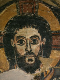 Christ in Glory, Fresco, 6th century, from Monastery of Saint Jeremiah, Saqqarah, Egypt Photographic Print