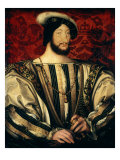Francis I, c.1525, 1494-1547 King of France Giclee Print by Jean Clouet