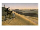 Sahara desert, Egypt, Late 19th - Early 20th century Giclée-tryk