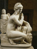 Aphrodite Bathing, Roman Imperial Era Copy of 3rd Century BC bronze Photographic Print