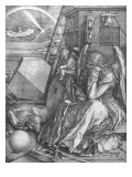 Melancolia, engraving, 1514 Giclee Print by Albrecht Durer
