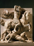 Alexander the Great, Metope, 3rd century BC Greek Photographic Print