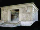 Ara Pacis Augustae, Monumental Altar, Marble Photographic Print