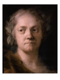 Self Portrait Giclee Print by Rosalba Carriera