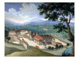 Abbey of Port-Royal-des-Champs, c.1710 Giclee Print by Magdeleine de Boulogne