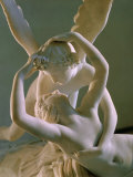 Psyche Brought to Life by Eros' Kiss, 1793 Photographie par Antonio Canova
