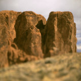 Side of Red Canyon Photographic Print by Deon Reynolds