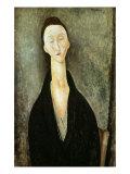 Madame Zborowska, 1918 Giclee Print by Amedeo Modigliani