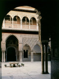 Polyfoil Arcature, Patio de las Doncellas, 14th-15th century Arab-Andalucian Architecture Photographic Print