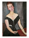 Madame G. van Muyden, 1917 Giclee Print by Amedeo Modigliani