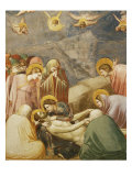 Deposition from the Cross, or The Lamentation, Fresco Giclee Print by  Giotto di Bondone