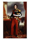 King Louis-Philipe I of France 1773-1850, with the Charter of 1830 Giclee Print