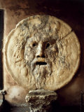 La Bocca della VeritThe Mouth of Truth), Roman Relief of the Face of the Sea God Oceanus Photographie