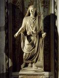 Augustus, 63 BC - 14 AD, Roman Emperor, Marble, 1st century AD Photographic Print