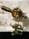 Theodolite, 19th century, made by Brosset in Paris, France Photographic Print