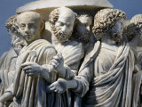 Roman Senate in Procession for Consul Taking Office, Sarcophagus Fragment, 270 AD, Roman Photographic Print