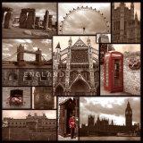 Inglaterra Láminas por Sage Singleton
