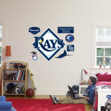 Tampa Bay Rays Logo Wall Decal