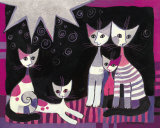Famiglia Con Sole Print by Rosina Wachtmeister