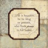 He Is Happiest Láminas por Stephanie Marrott