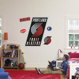 Portland Trail Blazers Logo Wall Decal