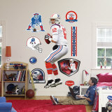 Tom Brady AFL Jersey Wall Decal