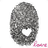 Love Print Kunstdruck von Louise Carey