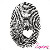 Love Print Print by Louise Carey