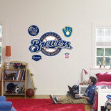 Milwaukee Brewers Logo Wall Decal