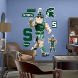 Michigan State Mascot - Sparty Wall Decal