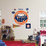 Houston Astros Classic Logo Wall Decal
