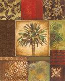Palm Collage I Plakater af Gregory Gorham