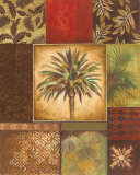 Palm Collage I Prints by Gregory Gorham
