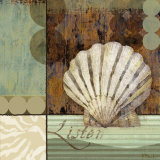 Contemporary Shell I Posters by Paul Brent