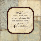 Teach Our Children Prints by Stephanie Marrott