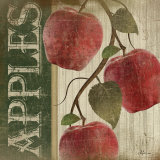 Red Apples Prints by Jennifer Pugh