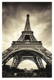 Eiffel Tower Poster by Marcin Stawiarz