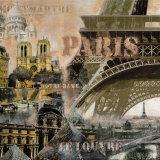 Paris I Poster von John Clarke